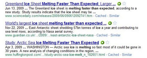 faster Arctic Melting Both Faster And Slower Than Expected