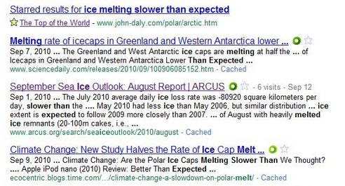 slower Arctic Melting Both Faster And Slower Than Expected