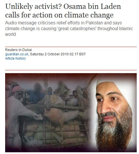 osama Guardian Identifies Osama As A Climate Activist