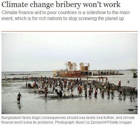 Guardian Thinks Bangladesh Rivers Flood Because Of Sea Level Rise