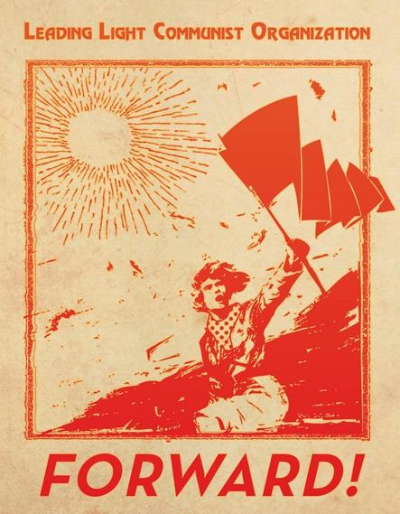 Image result for forward communist slogan