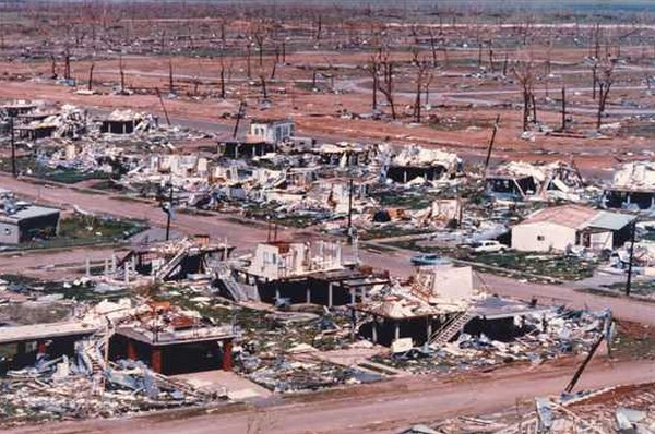 1974 : Global Cooling Cyclone Destroyed Darwin, Australia ...