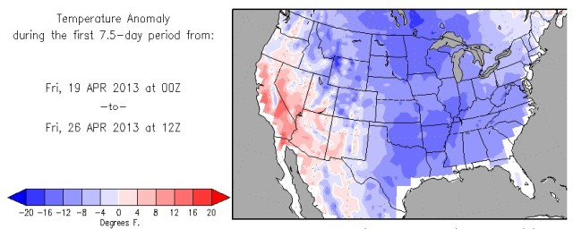 Colorado Obliterates Spring Cold Record