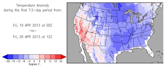 Colorado Obliterates Spring Cold Record