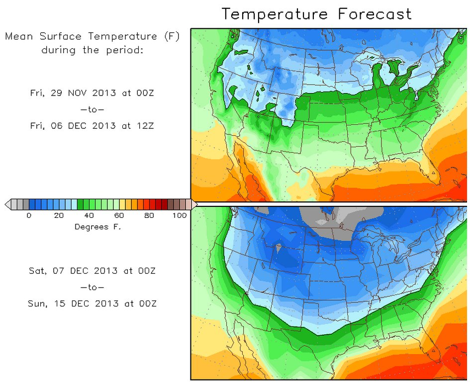 Nearly 1000 Record Low Temperatures Set As Arctic Air ...