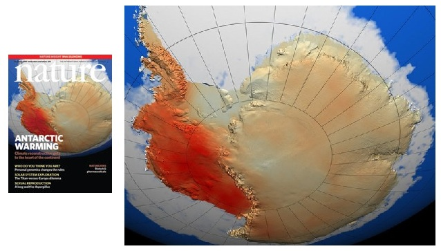 NASA's Spectacular Antarctic Temperature Fraud | The Deplorable Climate Science Blog
